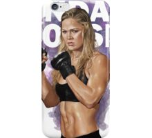 ronda rousey iPhone Case/Skin