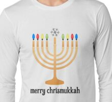 Merry Chrismukkah Long Sleeve T-Shirt