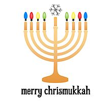 Merry Chrismukkah Photographic Print