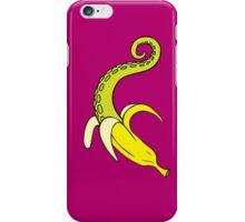 Banana Squid Dark iPhone Case/Skin