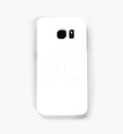 Black Flag Lion Skull Samsung Galaxy Case/Skin