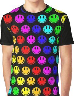 rainbow smiley's Graphic T-Shirt