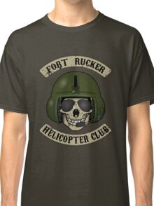 Fort Rucker Helicopter Club Classic T-Shirt