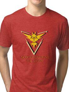 Team Instinct - Nobody Outruns The Storm Tri-blend T-Shirt