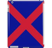 Red X iPad Case/Skin