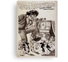 Performing Arts Posters Royal Lilliputians the big comedy boom a comedy company of giants and midgets 0534 Canvas Print