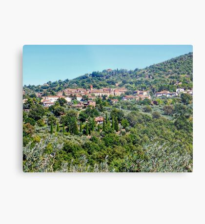 Paciano in Umbria Metal Print