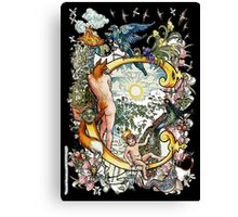 The Illustrated Alphabet Capital C (Fuller Bodied) Canvas Print