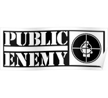 public enemy logo Poster