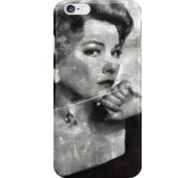 Anne Baxter Vintage Hollywood Actress iPhone Case/Skin