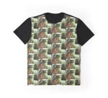 Exotic Plant Graphic T-Shirt