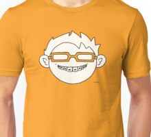 Superhero and nerd with braces and customizable glasses Unisex T-Shirt
