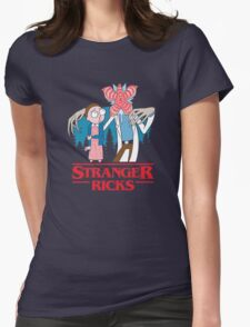 Stranger Ricks Womens Fitted T-Shirt