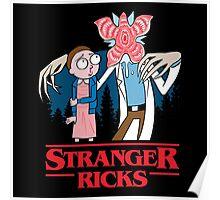 Stranger Ricks Poster