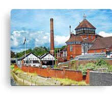 Harveys Brewery in Lewes Metal Print