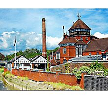 Harveys Brewery in Lewes Photographic Print