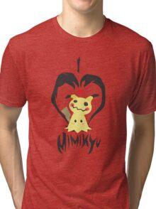 I <3 Mimikyu Tri-blend T-Shirt