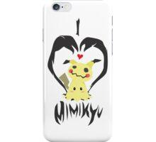 I <3 Mimikyu iPhone Case/Skin