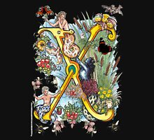 The Illustrated Alphabet Capital X (Fuller Bodied) Unisex T-Shirt