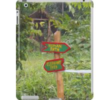 On Different Paths iPad Case/Skin