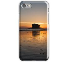 Gull Rock at Sunset iPhone Case/Skin