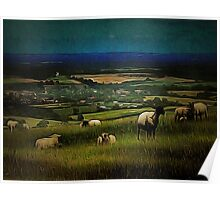 South Downs View Poster