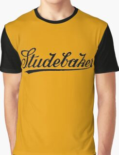 Retro dark classic car Studebar 1917 logo Graphic T-Shirt
