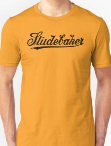 Retro dark classic car Studebar 1917 logo Unisex T-Shirt