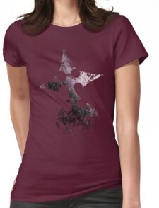 Kingdom Hearts Nobody grunge universe Womens Fitted T-Shirt