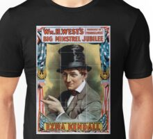 Performing Arts Posters Wm H Wests Big Minstrel Jubilee formerly of Primrose West 1882 Unisex T-Shirt