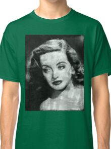 Bette Davis Vintage Hollywood Actress Classic T-Shirt