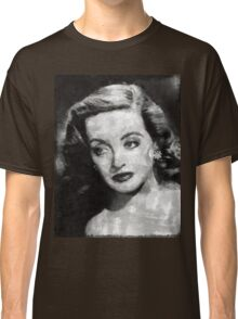 Bette Davis Vintage Hollywood Actress Classic T-Shirt