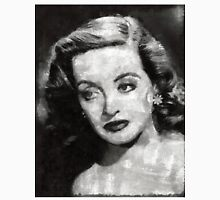 Bette Davis Vintage Hollywood Actress Unisex T-Shirt
