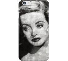 Bette Davis Vintage Hollywood Actress iPhone Case/Skin