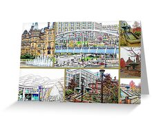 Sheffield Collage Greeting Card
