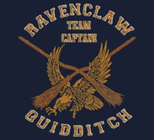 Harry Potter Ravenclaw Eagle quidditch team captain by Latifa Salma lufa Poerawidjaja