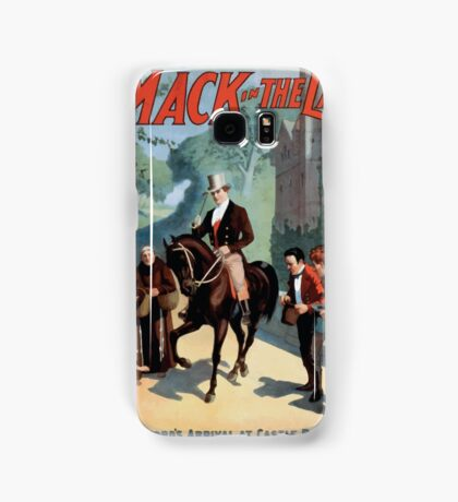 Performing Arts Posters The singing comedian Andrew Mack in the The last of the Rohans by Ramsay Morris 1110 Samsung Galaxy Case/Skin