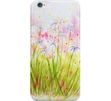 Meadow Study iPhone Case/Skin