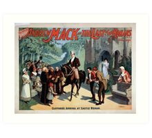 Performing Arts Posters The singing comedian Andrew Mack in the The last of the Rohans by Ramsay Morris 1110 Art Print