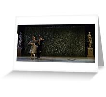 Sound of Music Dance  Greeting Card