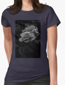The Garden Rose Womens Fitted T-Shirt