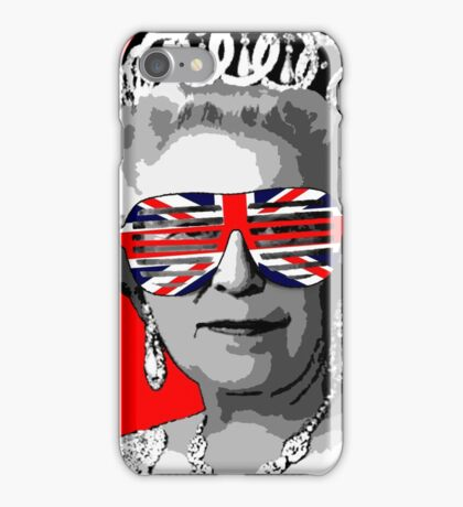 Queen Elizabeth II iPhone Case/Skin