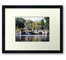 Tranquility Discovered Framed Print