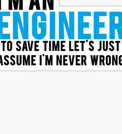 Trust Me Im An Engineer Sticker