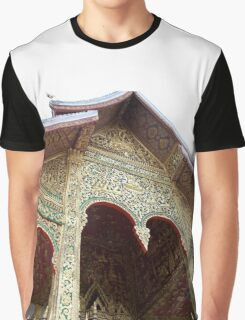 A Temple Graphic T-Shirt