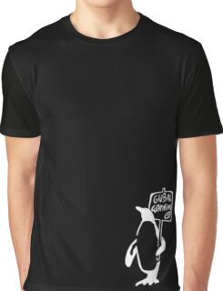 Global Warning on Black Graphic T-Shirt