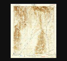 USGS TOPO Map Arizona AZ Red Hill 314950 1939 62500 Unisex T-Shirt