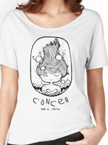 Zodiac Signs: Cancer Women's Relaxed Fit T-Shirt