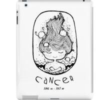 Zodiac Signs: Cancer iPad Case/Skin