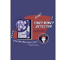 Timey Wimey Machine - Doctor Approved! Photographic Print